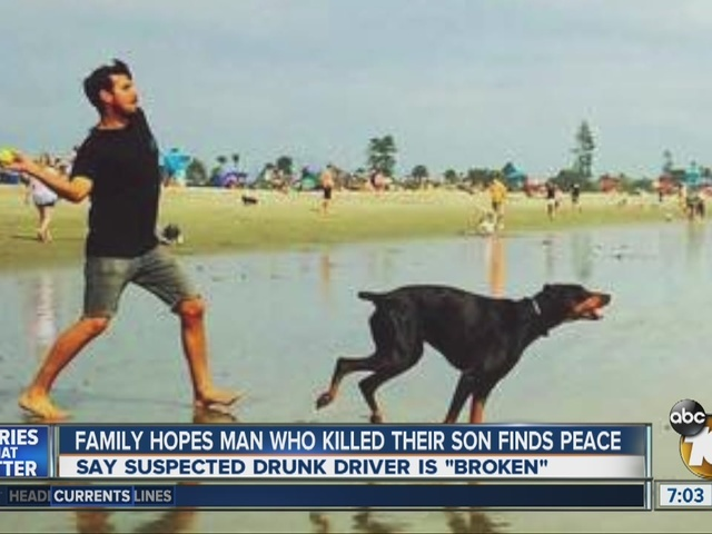 Family hopes man who killed their son finds peace