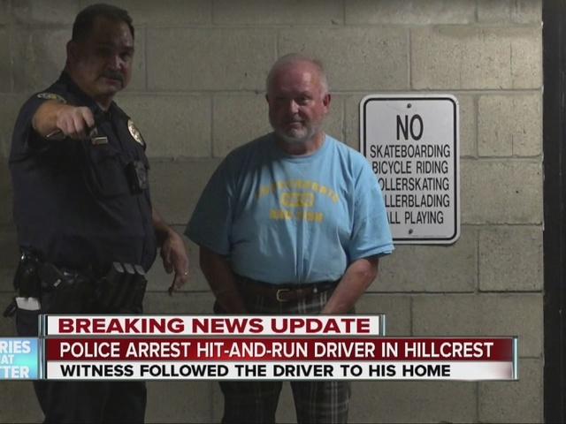 Man killed in Hillcrest hit-run, suspect captured