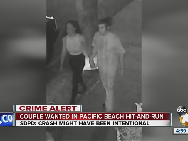 Police searching for persons of interest in PB hit-and-run