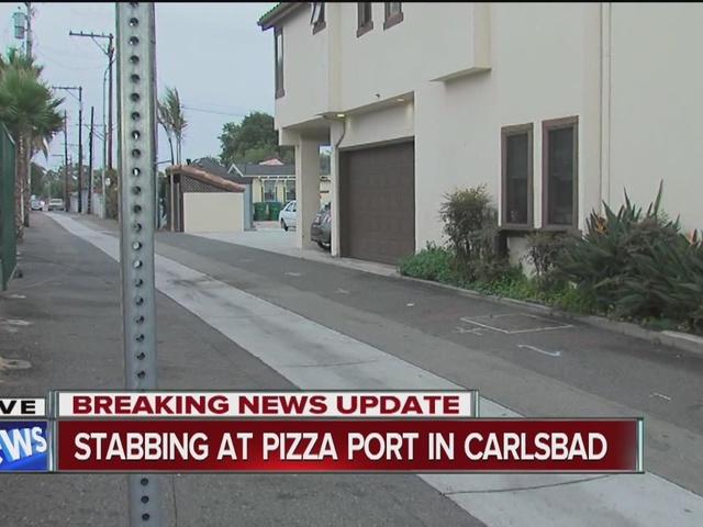 Frantic scene as man stabbed at Carlsbad restaurant