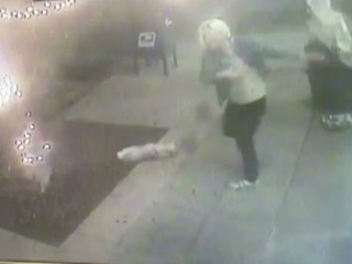 2 caught on camera trashing Mission Hills street
