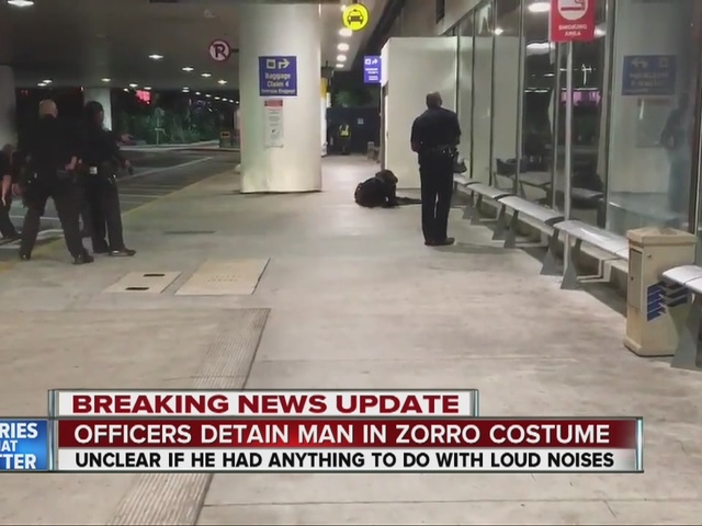 False report of gunfire causes chaos at LAX