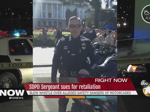 SDPD sergeant sues, claims retalition