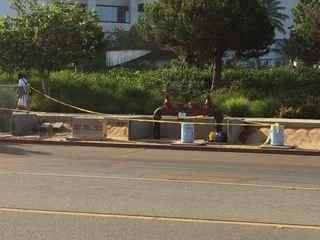 Man found dead outside bayfront hotel
