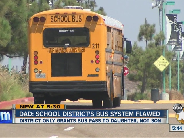 Dad: School district's bus system flawed