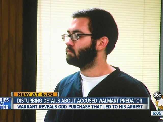 Disturbing details about accused Walmart predator