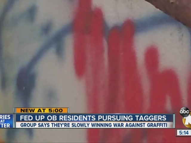 Fed up Ocean Beach residents pursuing taggers