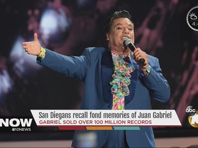 San Diegans remember Latin music superstar Juan Gabriel