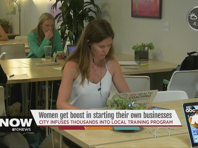 Women get boost in starting their own businesses