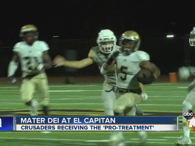 Mater Dei Catholic receives the 'Pro Treatment'