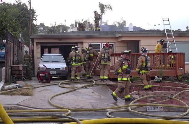 Garage Fire Breaks Out In Bay Park