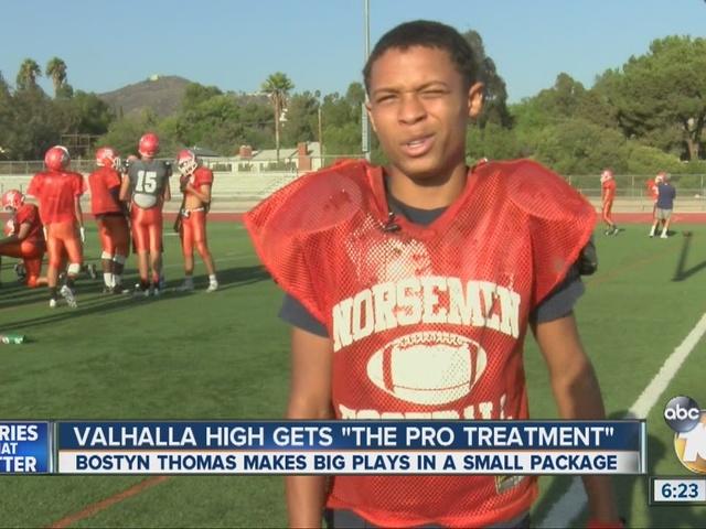 Valhalla HS player makes big plays despite size