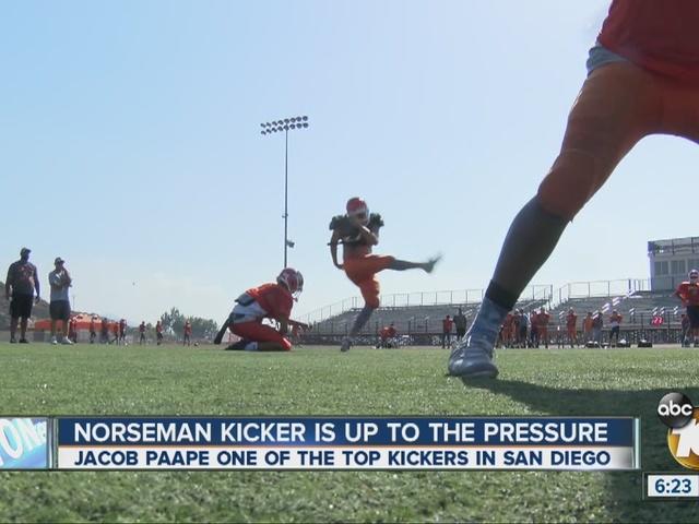 Valhalla High School kicker ready to take on pressure