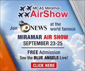 MCAS Miramar Air Show: Sept. 23-25