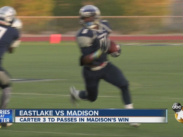 THE PRO TREATMENT: Madison beats Eastlake for first time in 3 years