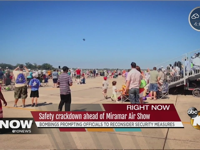 Safety crackdown ahead of Miramar Air Show