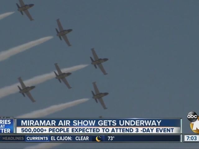 Miramar Air Show gets underway