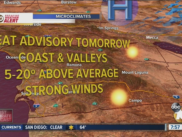 BREAKING WEATHER ALERT: Santa Anas, low humidity, heat put wildfire risk high
