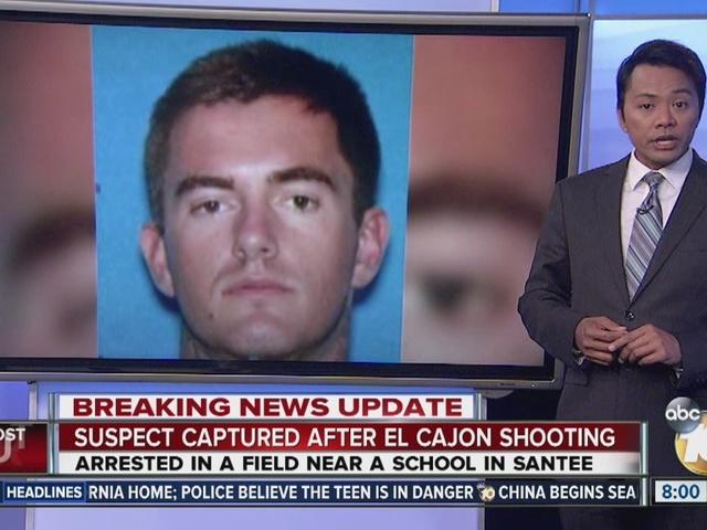 Suspect captured after El Cajon shooting