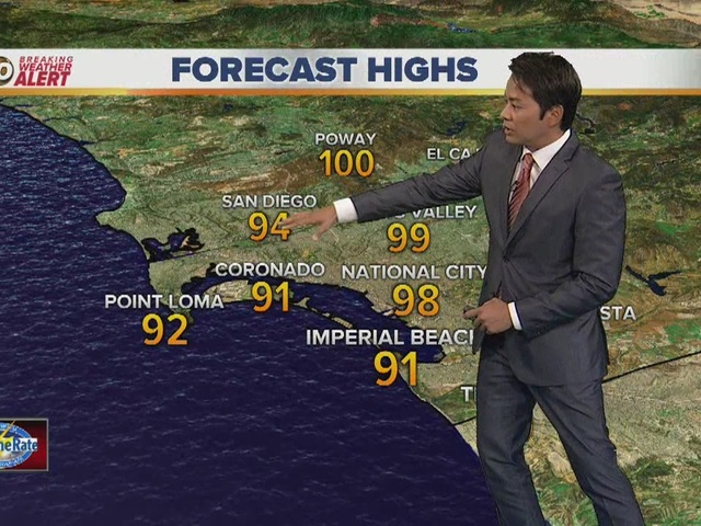 Robert's forecast for September 26, 2016