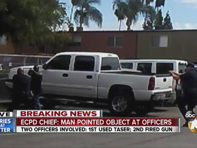 Man shot by El Cajon police officer has died