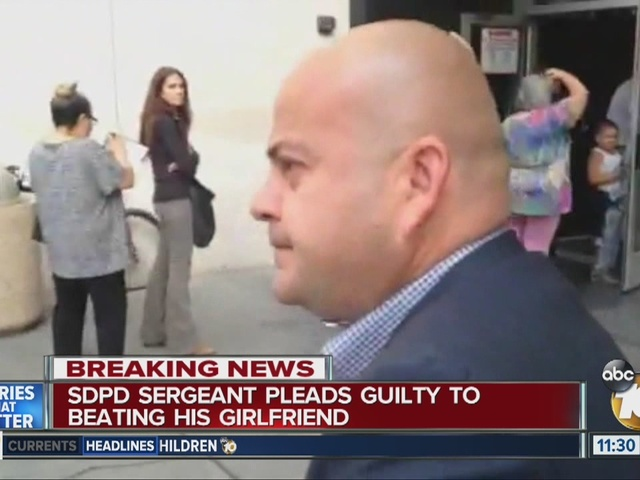 No jail time for SDPD sergeant who attacked girlfriend