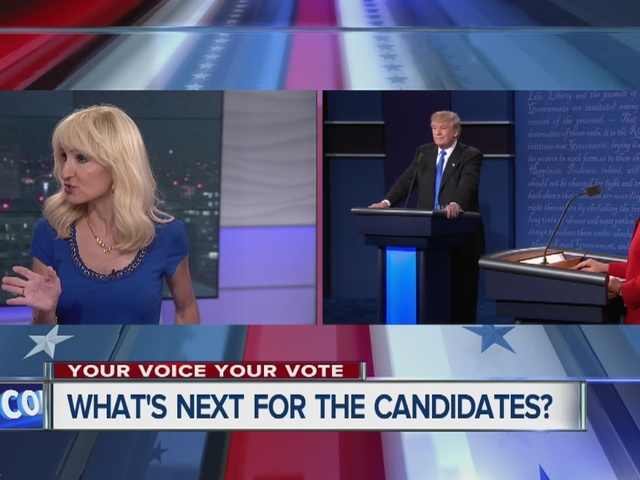 What's next for the candidates?