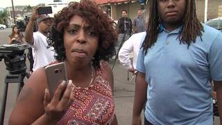 PHOTOS: Bystanders react after El Cajon shooting