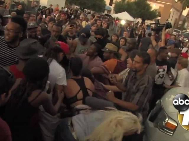 El Cajon protests turn violent following fatal officer-involved shooting…