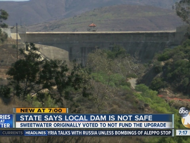 State official says Bonita dam is unsafe, nearby residents in jeopardy