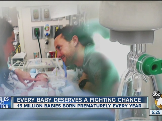 Joy turns to fear after San Diego couple learns about baby's rare condition
