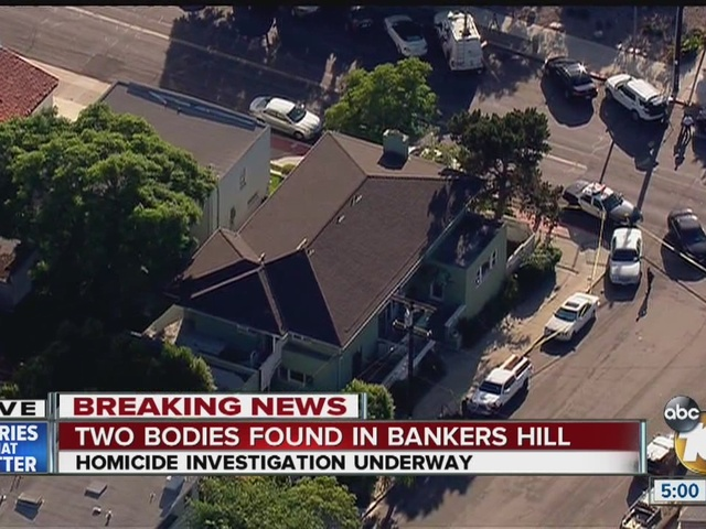 Murder-suicide in Bankers Hill, police on scene