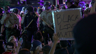 Overnight protests tense, but not violent