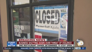 El Cajon businesses prepare for protests