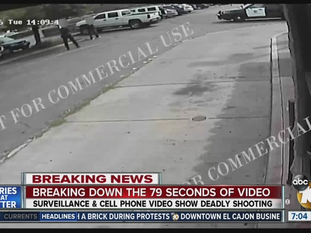 Video of El Cajon police shooting Alfred Olango released