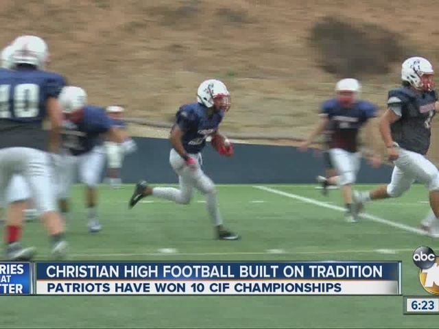 Christian High School receives The Pro Treatment