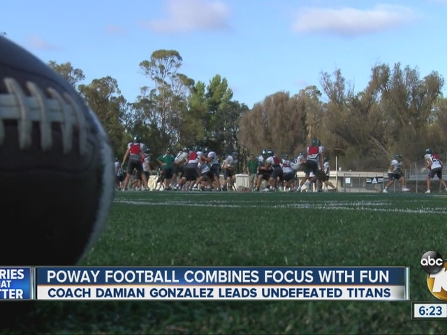 Poway High School receives The Pro Treatment