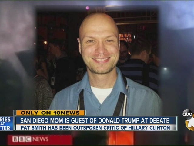 San Diego mom is guest of Donald Trump at third debate