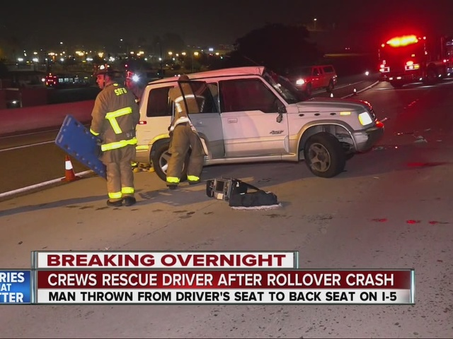 Good Samaritans rush to driver's aid after dangerous rollover crash in Old Town