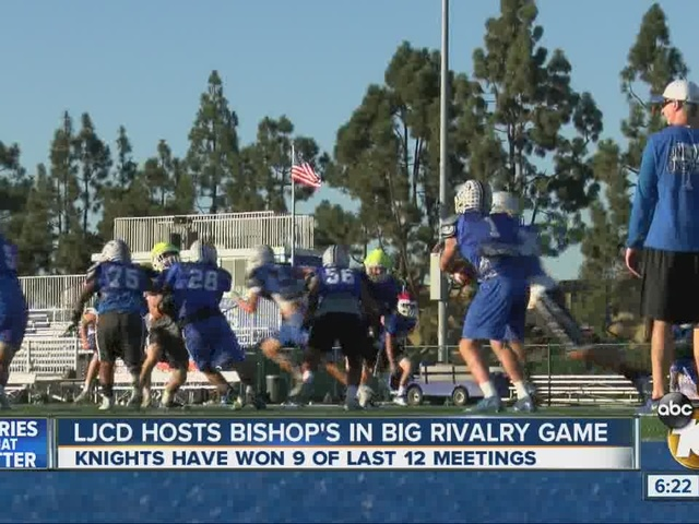 La Jolla Country Day faces Bishop's in rivalry clash