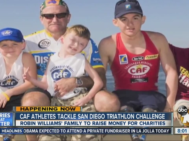 CAF athletes tackle San Diego Triathlon Challenge
