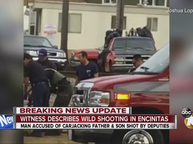 Witness describes wild shooting in Encinitas