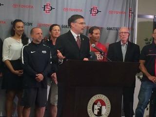 SDSU announces hiring of new athletic director