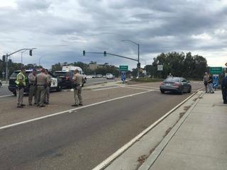 Pedestrian hit, killed off I-5 in La Jolla area