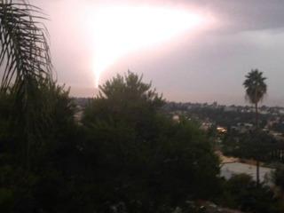 PHOTOS: Lightning strikes around SD County