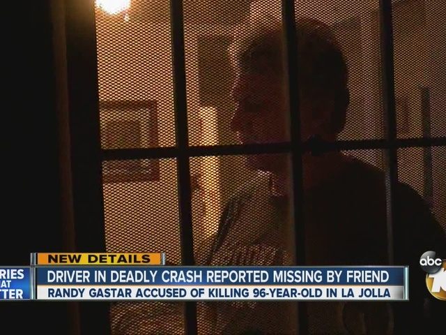 Driver in deadly crash reported missing by friend