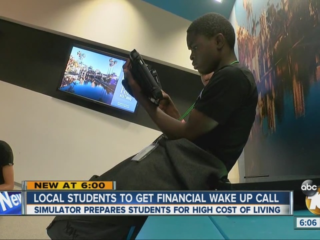 Local students get financial wake up call