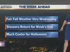 Forecast: Fair for now, showers return by Friday