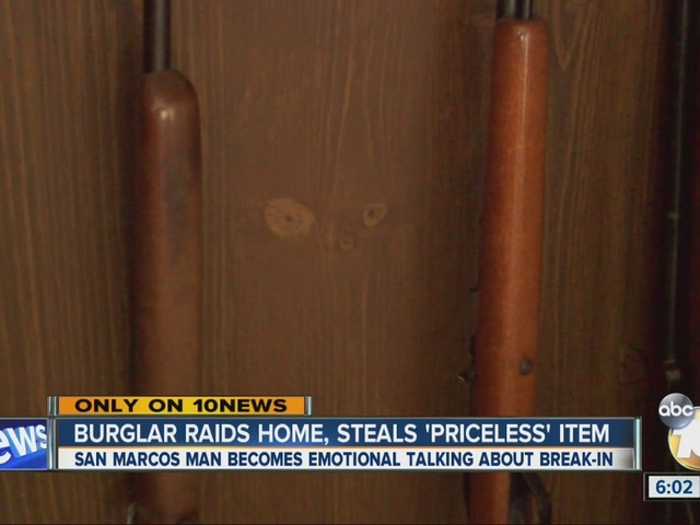 Rifle stolen in San Marcos