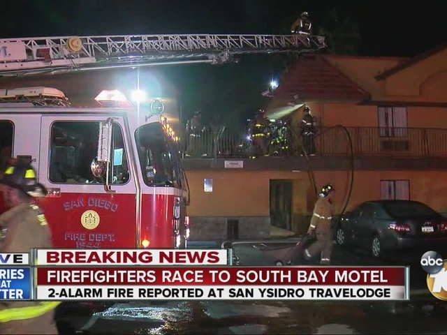 Firefighters race to South Bay Motel